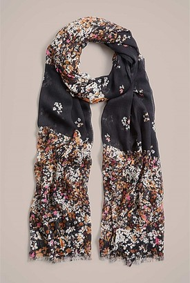 Witchery Spliced Floral Scarf