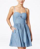 American Rag Printed Fit & Flare Dress