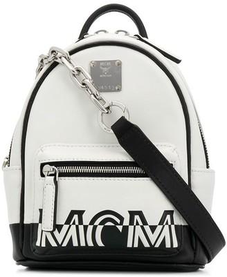 MCM Printed Logo Crossbody Bag
