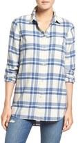 Madewell Women's 'Ex-Boyfriend' Plaid Cotton Flannel Shirt