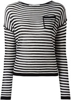 Barena striped knitted blouse - women - Silk/Cashmere/Virgin Wool - XL