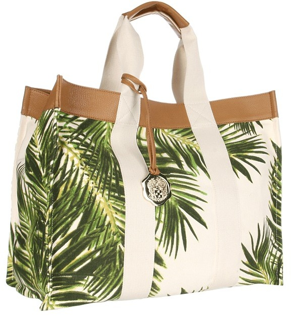 Vince Camuto Como Tote (Palm Print) - Bags and Luggage