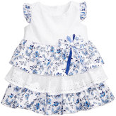Bonnie Baby Eyelet & Floral-Print Dress, Baby Girls (0-24 months)