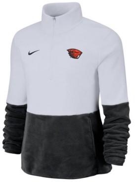 Nike Women's Oregon State Beavers Therma Long Sleeve Quarter-Zip Pullover