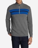 Eddie Bauer Men's Long-Sleeve Sidecut 1/4-Zip Sweater