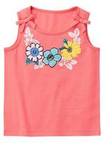 Gymboree Flower Necklace Tank