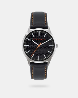 Ted Baker MANHATA Leather strap watch