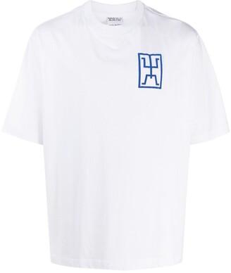 Marcelo Burlon County of Milan motif print T-shirt