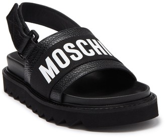 Moschino Flatbed Sandal