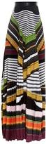 Mary Katrantzou Pelar striped maxi skirt