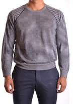 Armani Collezioni Men's Grey Linen Sweater.