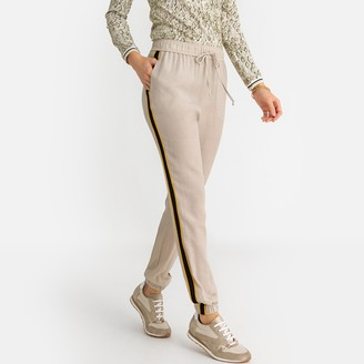 Anne Weyburn Straight Draping Trousers, Length 28""