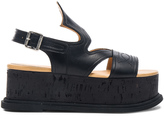 MM6 MAISON MARGIELA Platform Leather Sandals
