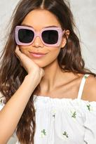 Nasty Gal nastygal Square Off Fashion Glasses