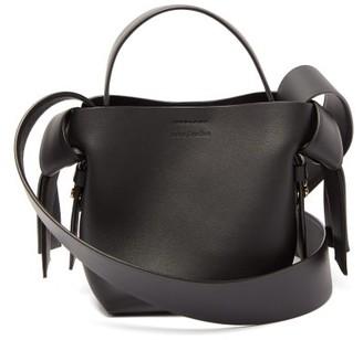 Acne Studios Musubi Micro Leather Cross-body Bag - Womens - Black