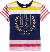 Tommy Hilfiger Colorblock Striped Top, Big Girls (7-16)