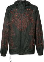 Marcelo Burlon County of Milan graphic-print wind breaker - men - Polyamide/Polyester - M