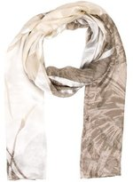 Barbara Bui Sheer Printed Shawl