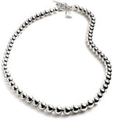 Lauren Ralph Lauren Beaded Silvertone Necklace