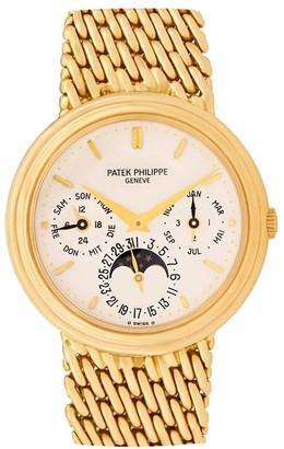 Patek Philippe 1987 pre-owned Perpetual Calendar 36mm