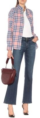 J Brand Sallie mid-rise flared jeans