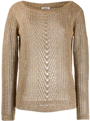 Liu Jo Sheer Knitted Sweater
