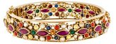 Amrapali 18K Pearl, Ruby, Diamond & Multistone Bangle Bracelet