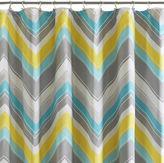 JCPenney INTELLIGENT DESIGN Intelligent Design Ariel Chevron Shower Curtain