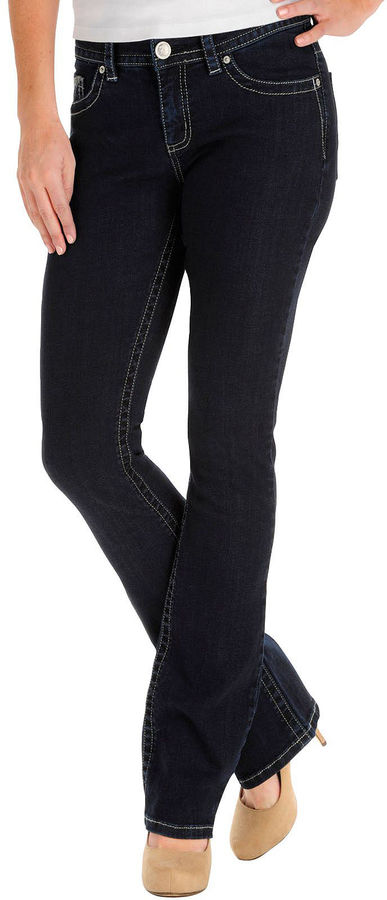 Lee Slender Secret Thickstitch Bootcut Jeans