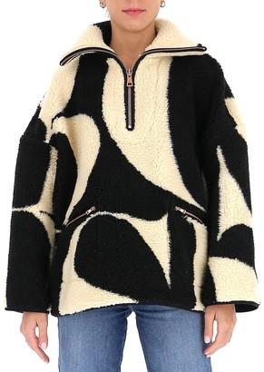 See by Chloe Logo Pattern Oversize Sweater