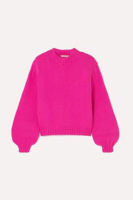 Ulla Johnson Merino Wool Sweater - Fuchsia