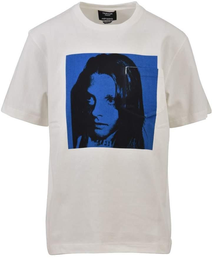 Calvin Klein Crewneck Printed T-shirt