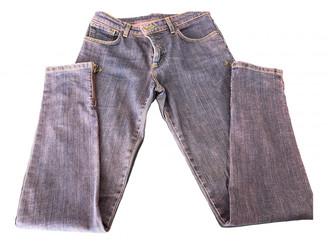 Louis Vuitton Pink Cotton Jeans