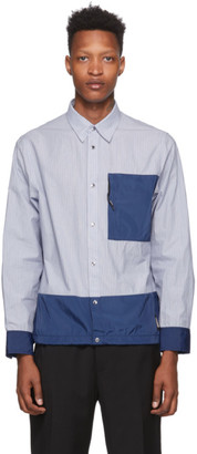 Coach 1941 Blue Striped Essential Shirt