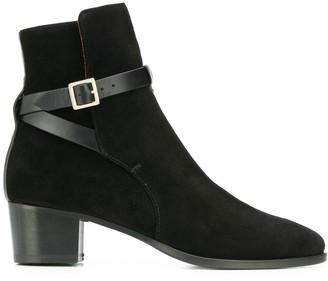 L'Autre Chose Ankle Strap Ankle Boots