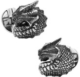Cufflinks Inc. Men's Sterling Silver Dragon Cufflinks