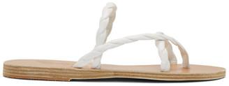 Ancient Greek Sandals White Mahi Sandals