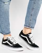 Vans Old Skool Classic Sneakers In Black