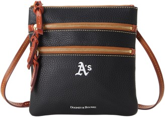 Dooney & Bourke MLB Athletics N S Triple Zip Crossbody
