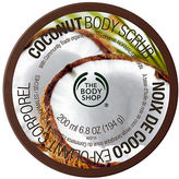 The Body Shop Body Scrub, Coconut 6.76 oz (200 ml)