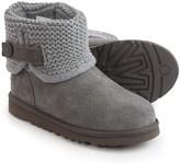 UGG Darrah Boots - Suede, Knit Shaft (For Big Kids)