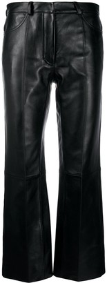 Sandro Evy straight-leg trousers