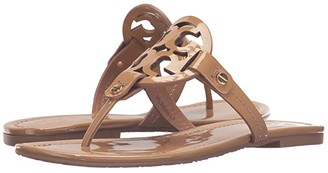 Tory Burch Miller Flip Flop Sandal (Vintage Vachetta) Women's Shoes