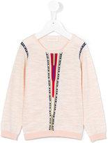 Simple Etnic style sweatshirt