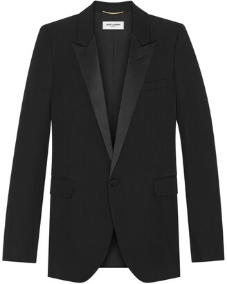 Saint Laurent Wool Evening Jacket