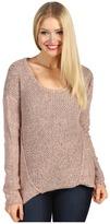 Kensie Pieced Marled Sweater (Nectar Multi) - Apparel