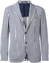 Tagliatore striped blazer - men - Cotton/Acrylic/Polyamide/other fibers - 46