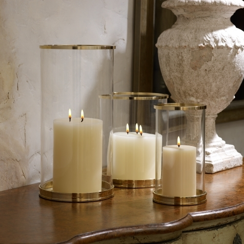 Ralph Lauren Home Brass Modern Hurricane