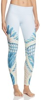 Alo Yoga Airbrush Feather Print Leggings