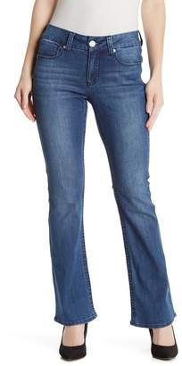 Seven7 Tummyless Slim Bootcut Jeans (Regular & Plus Size)